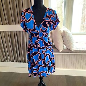 Hourglass Lilly Print Dress